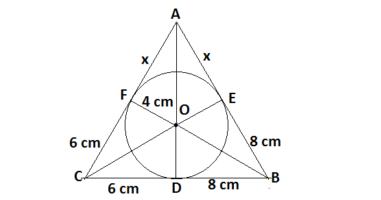 Q12 circle class 10
