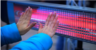 heater-heating effect of current