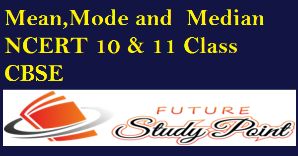 mean,mode and median