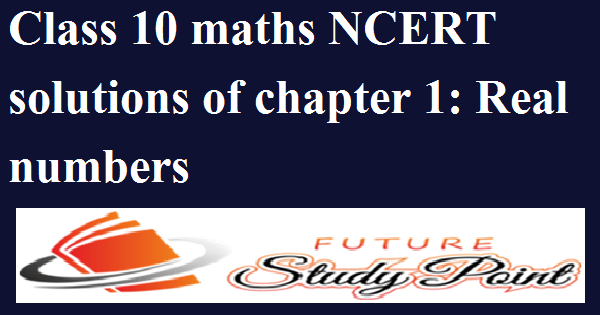 chapter 1 real numbers