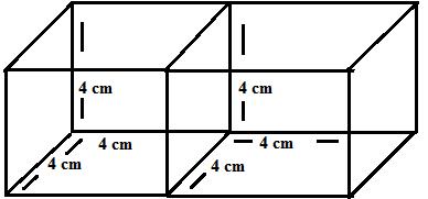 2 cubes adjacant