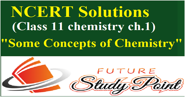 some concepts of chemistry