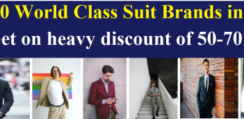 Top 10 World Class Suit Brands in India :Suitable for attending party,marriage, seminar and conference