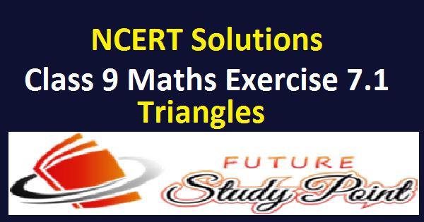 Class 9 maths ex. 7.1 feature