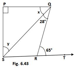 class 9 maths ex.6.3 fig.6.43