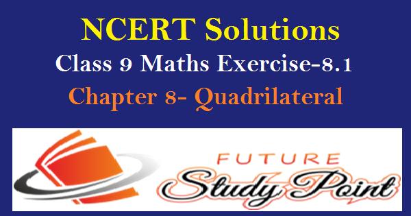 Exercise 8.1 class 9 maths