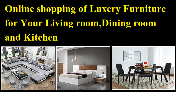 Online shopping for your living room, dining room and kitchen
