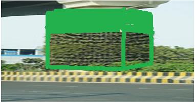 green metro pillar