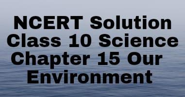Chapter-15 class 10 ncert solutions