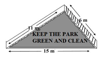keep the park green and clean