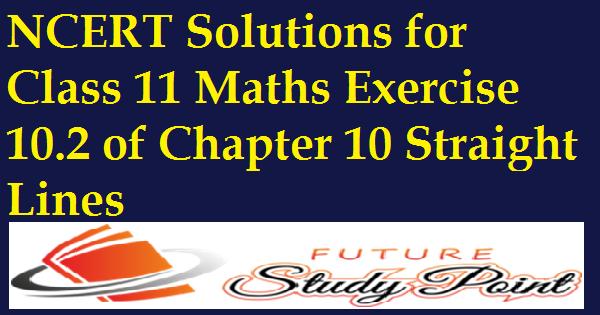 exercise 10.2 class 11 maths